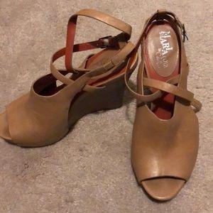 Cole Haan Shoes - Beige Cole Haan Wedges